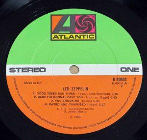 Led Zeppelin - Led Zeppelin (1969)