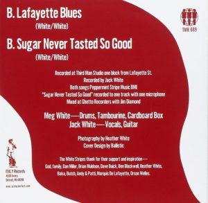The White Stripes – Lafayette Blues (1998)