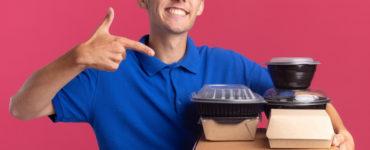 mad delivering food
