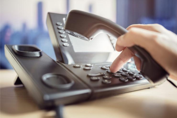 Call center phone system