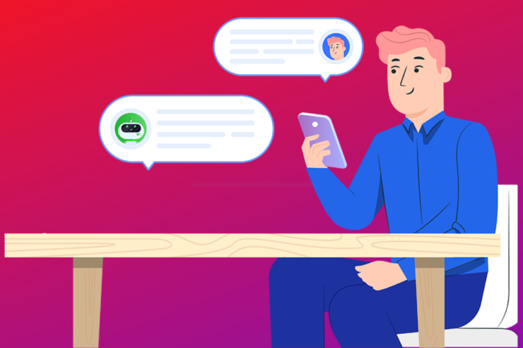 SMS Chatbots by SMS service